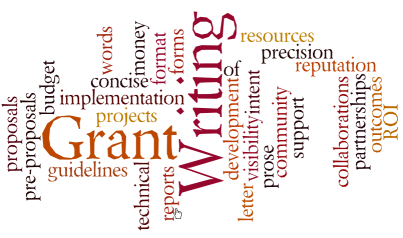 help with grant writing The ip grants office can offer assistance with a variety of tasks associated with the grant process as soon as you begin thinking about a proposal or project, contact our office to discuss how ip might support your efforts we are interested in helping ip faculty and staff develop proposals for external funding in support of their.